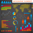 Vector set of Infographic elements — 图库矢量图片