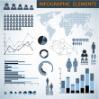 Big Vector set of Infographic elements — Stockvector  #7813511