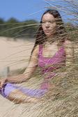Woman Yoga — Stock Photo