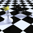 Chess. Conception of leadership - Foto de Stock