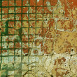 Old tile wall — Stock Photo