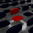 Empty Conference Hall or Waiting Space — Stock Photo