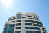 Modern office building as a sky scraper — Stock Photo
