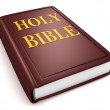Royalty-Free Stock Photo: Brown holy bible book