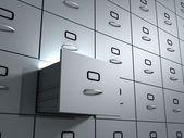 Deposito ufficio gabinetto. — Foto Stock