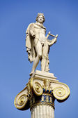 Apollo statue near Academy of Athens — Stock Photo