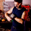 Mechanic male — Stockfoto