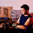 Stock Photo: Mechanic male