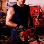 Mechanic male — Stock Photo