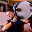Mechanic male — Stock Photo