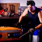 Mechanic male — Stock Photo #6772925