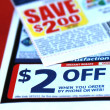 Stock Photo: Discount coupons