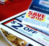 Rebate coupons — Stock Photo