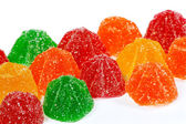 Coloured jelly sweets — Stock Photo