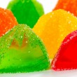 Coloured jelly sweets — Stockfoto