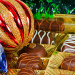 Royalty-Free Stock Photo: New Year\'s still life of chocolate candy