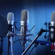 Foto Stock: Studio microphone