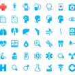 Medical icons — Stock Vector #7333127