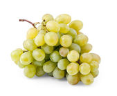 Bunch of fresh grapes isolated on white — Stock Photo