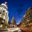 Grvistreet, Madrid, Spain. — Stock Photo #6843134