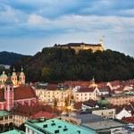 Ljubljana, capital of Slovenia — Stock Photo #6925113