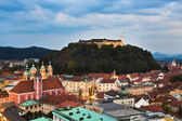 Ljubljana, capital of Slovenia — Stock Photo