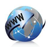 Vector, global internet — Stock Vector