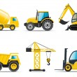 Royalty-Free Stock Vector Image: Building machines | Bella series