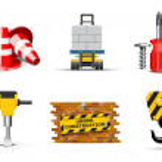Renovation icons   Bella series — Stock Vector
