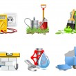 Renovation icons | Bella series — Wektor stockowy