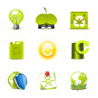 Ecology icons 2 | Bella series — Stock Vector