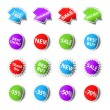 Royalty-Free Stock Vektorov obrzek: Sale stickers