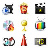 Film- és szórakoztató ikonok | Bella sorozat, 2. rész — Stok Vektör