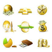 Money and finance icons | Bella series — Stok Vektör