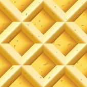 Waffles seamless texture — Stock Vector