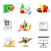 School icons 2   Bella series — Stock Vector