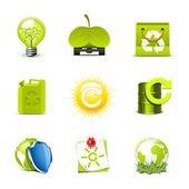 Ecology icons 2   Bella series — Stock Vector