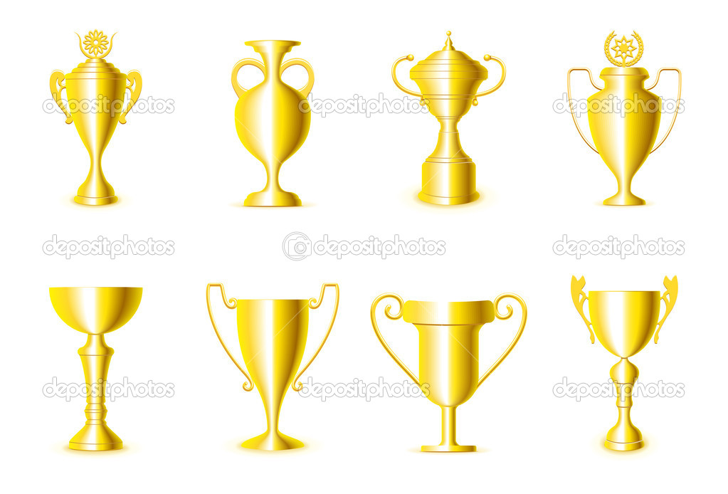 Award cups — Stock Vector #6943660