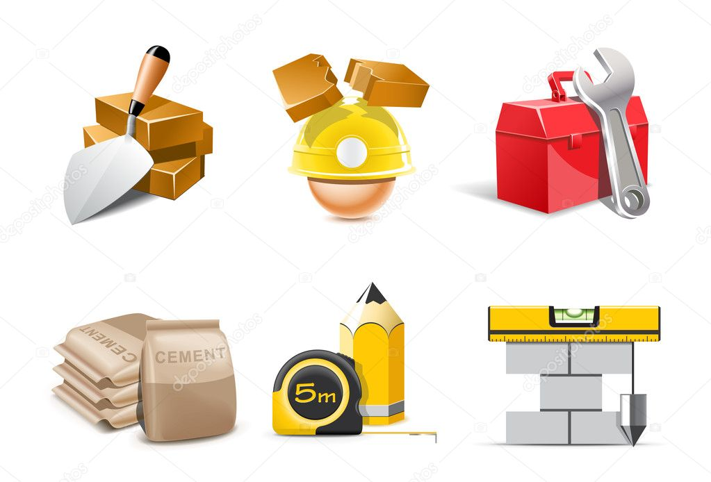 Building icons | Bella series  Stock Vector #6943691
