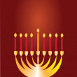 Stock Photo: Jewish religious holiday Hannukkah.