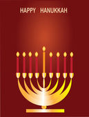 Jewish religious holiday Hannukkah. — Stock Photo