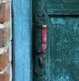 Old door. — Stock Photo