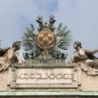 Statue composition - Albertina, Vienna2 — Stock Photo