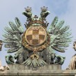 Statue composition - Albertina, Vienna closeup — Stock Photo