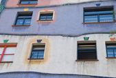 Façade colorée - maison hundertwasser - Vienne — Photo