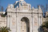 Entrance of Dolmabache Palace - Close up — Stock Photo