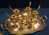Mutfak eşyaları koleksiyonu-kahve seti — Stok fotoğraf