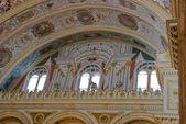 Balcony in the Main Hall of Dolma Bahche Palace — Stock Photo