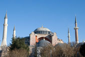 Hagia Sophia Panoramic View - Turkey, Istanbul — Stock Photo