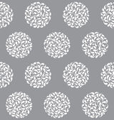 Vector abstract circles seamless pattern — ストックベクタ